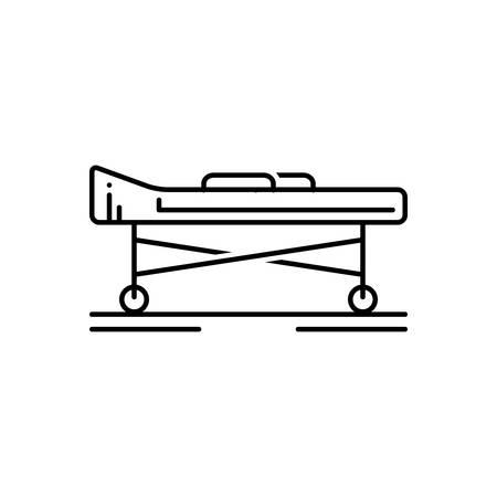Stretcher icon  イラスト・ベクター素材