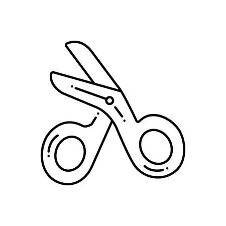 Scissore icon Stok Fotoğraf - 124981443