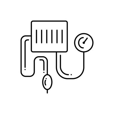 Blood pressure kit icon