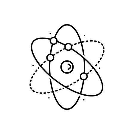 Molecule icon Stock Illustratie