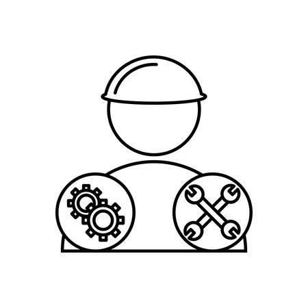 Mechanics icon Иллюстрация