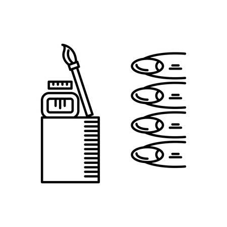 Nail art icon