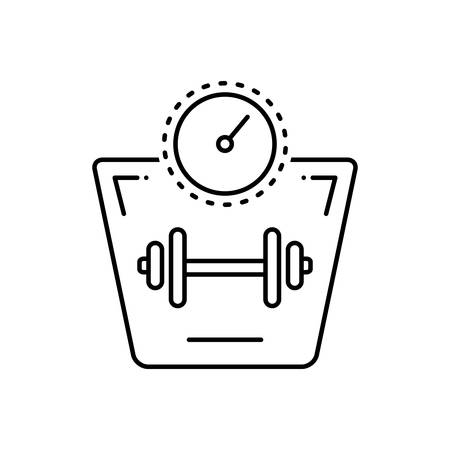 Weight increase icon