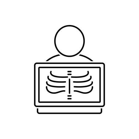 Radiology icon Ilustração