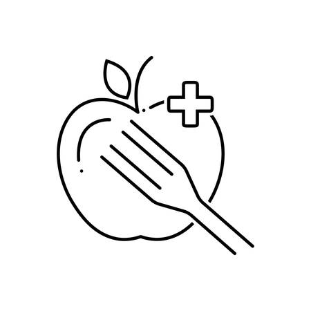 Dietary food icon