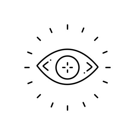 Eyesight icon Ilustracja