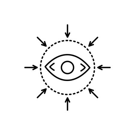 Eye care services icon