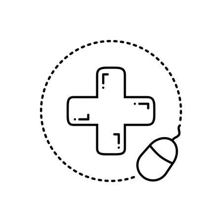 Pharmacy online icon