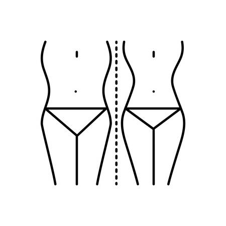 Diet control icon Ilustrace