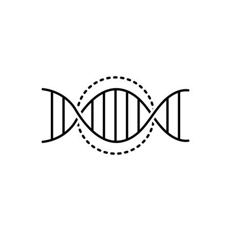 Dna genetic icon