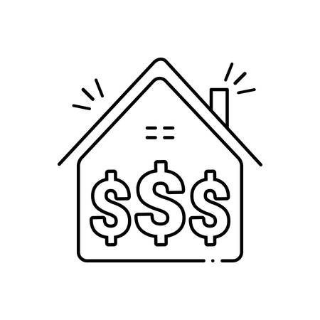 Investment icon Ilustrace