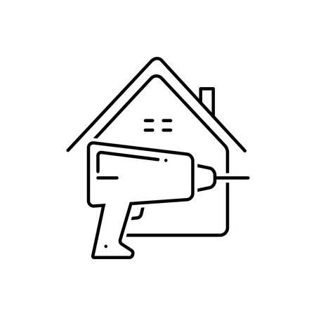 Home repair icon Ilustração