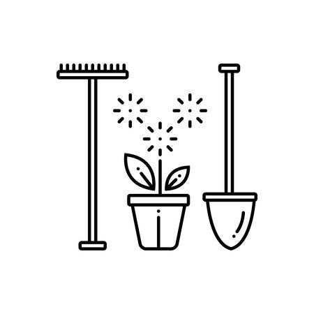 Garden service icon