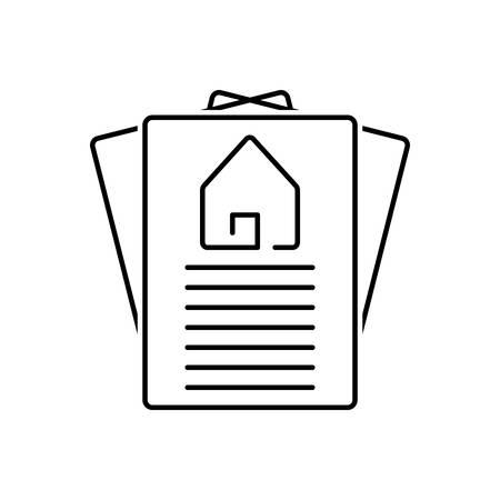 Property paper icon