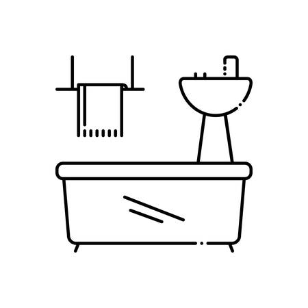 Bathroom appliances icon