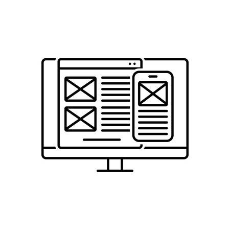 Icon for user,interface