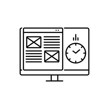 Icon for project,management Standard-Bild - 125076057