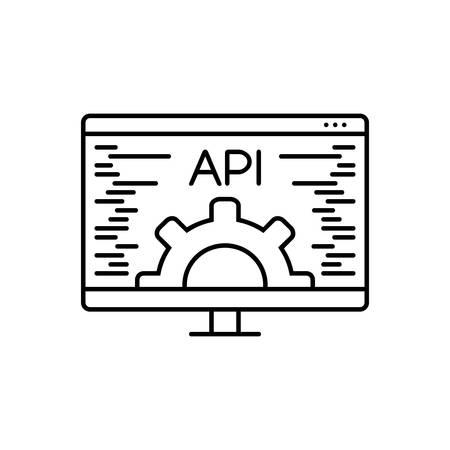 Icon for api ,data