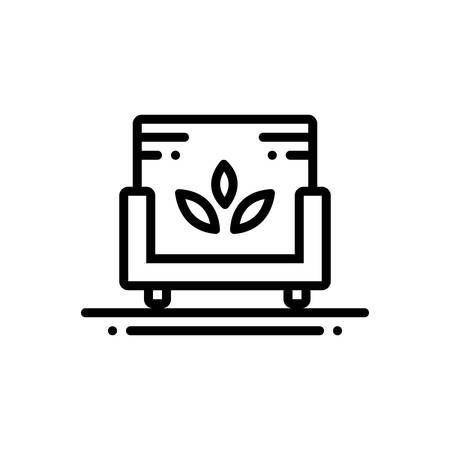 Icon for sofa,spa