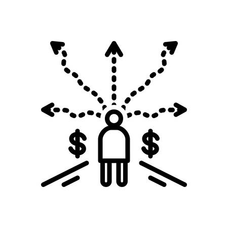 Business decision icon