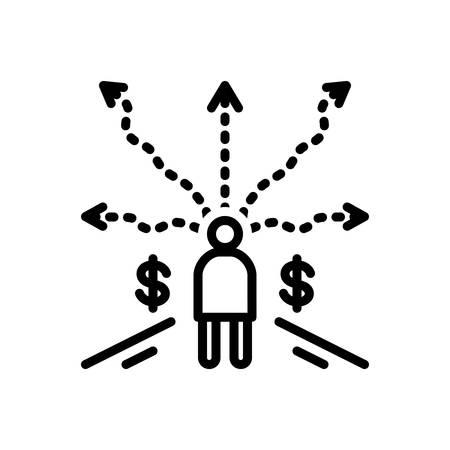 Business decision icon Banco de Imagens - 125332169