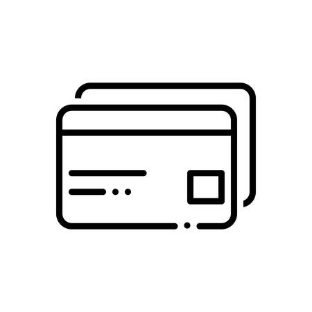 Atm cards icon Ilustrace