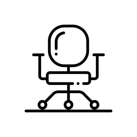 Business chair icon