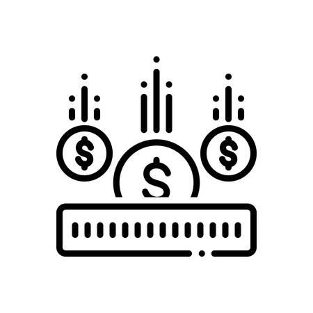 Investment icon Ilustração