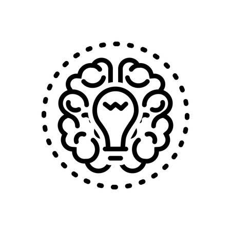 Brainstorming icon 일러스트