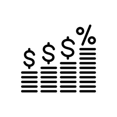 Finance interest  icon