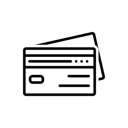Icon for credit,cards Ilustrace