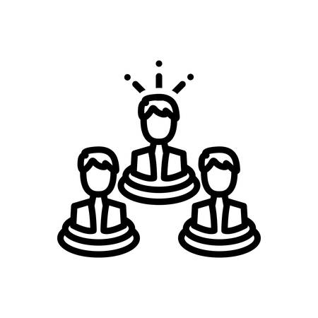 Icon for leader , management