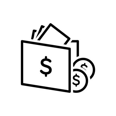 Icon for wallet ,purse