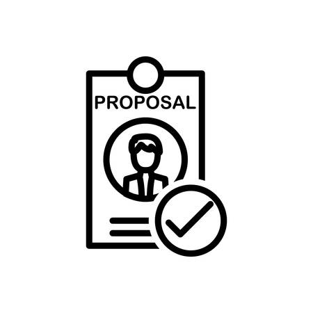 Icon for best,proposal