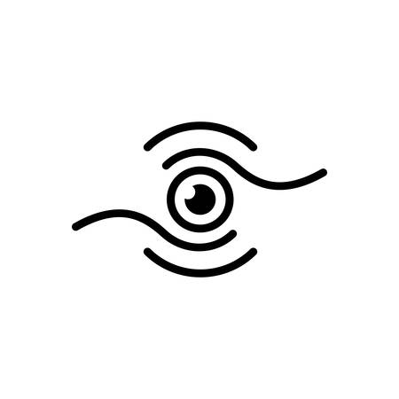 Icon for vision, eyesight Stok Fotoğraf - 125803346