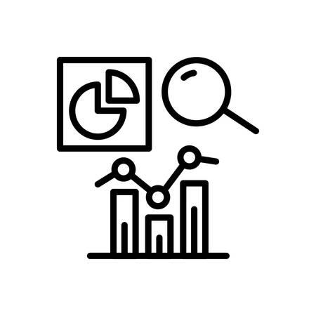 Icon for analytics, analysis Zdjęcie Seryjne - 125803347