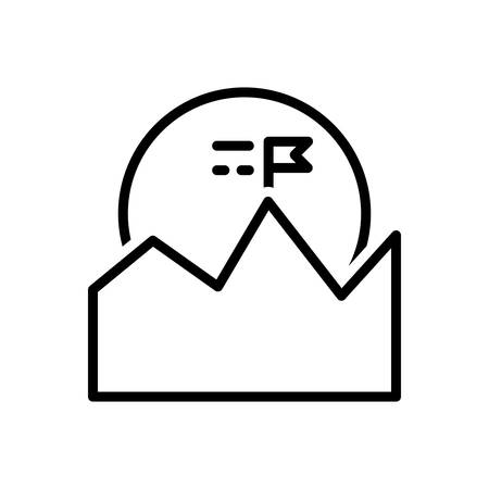 Icon for mission, corporate