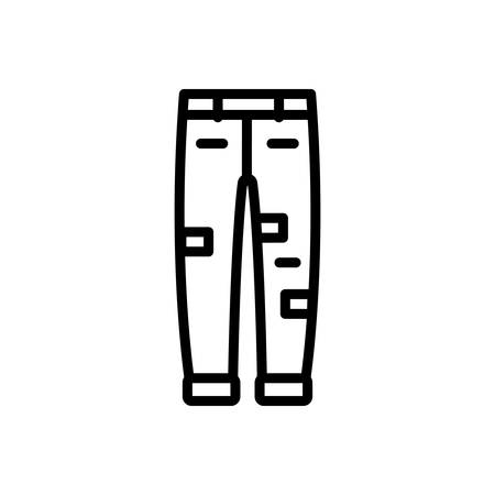 Icon for jeans , denim
