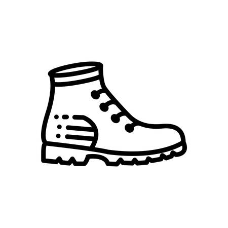 Icon for boots,  shoes