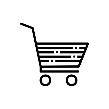 Icon for cart, purchase Ilustração