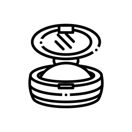 Icon for blush,accessory Ilustração