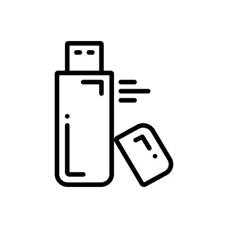 Icon for flash,drive Illustration