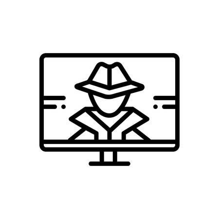 Icon for hacker,phishing