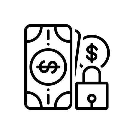Icon for safe,money