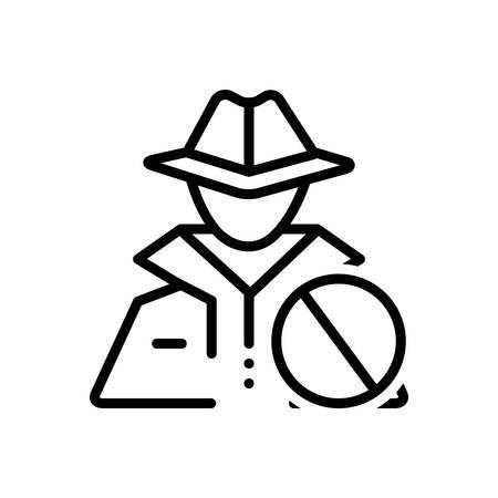 Icon for anti,theft