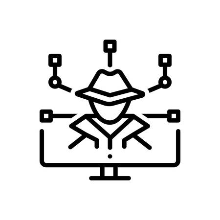 Icon for cyber,crime