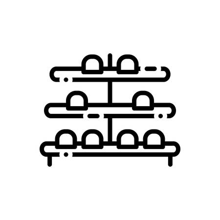 Icon for shoe,rack