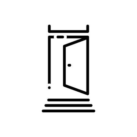 Icon for door,portal