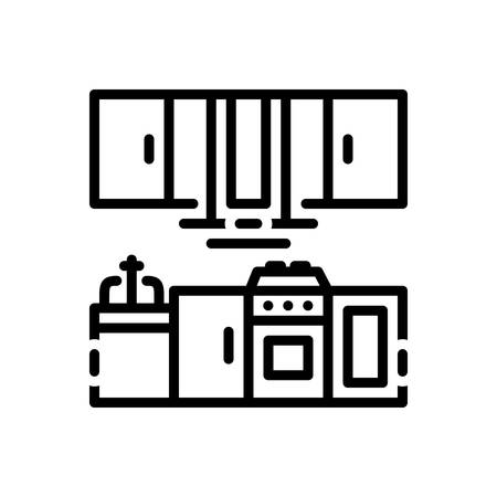 Icon for kitchen,cooking Illustration