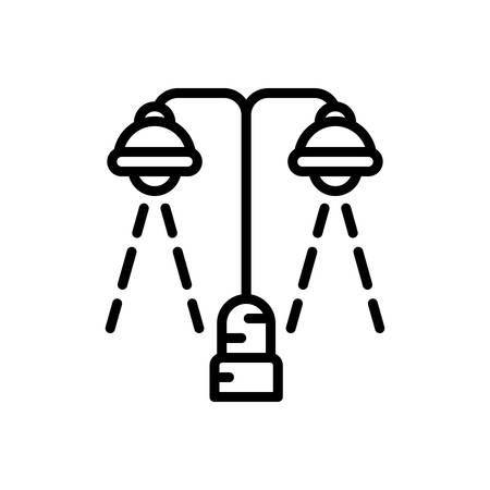 Icon for lighting,bright Stock Illustratie